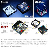 Makerfocus M5Stack ESP32 Series Basic Core IoT Development Kit WiFi for Arduino