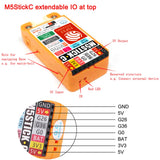 M5Stack M5StickC ESP32 Mini IoT Development Board Official with Color 0.96 inch TFT Color Screen