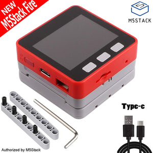 M5Stack FIRE IoT Kit 240MHz Dual Core ESP32 Development Stackable Kit
