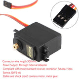 MakerFocus 4Pcs MG995 Servo High Speed 20KG Control Angle 180 Metal Gear Servo