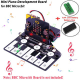 BBC Micro:bit piano music development board