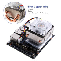 MakerFocus Nvidia Jeston Nano Cooling Fan DC 5V with Radiator Heater