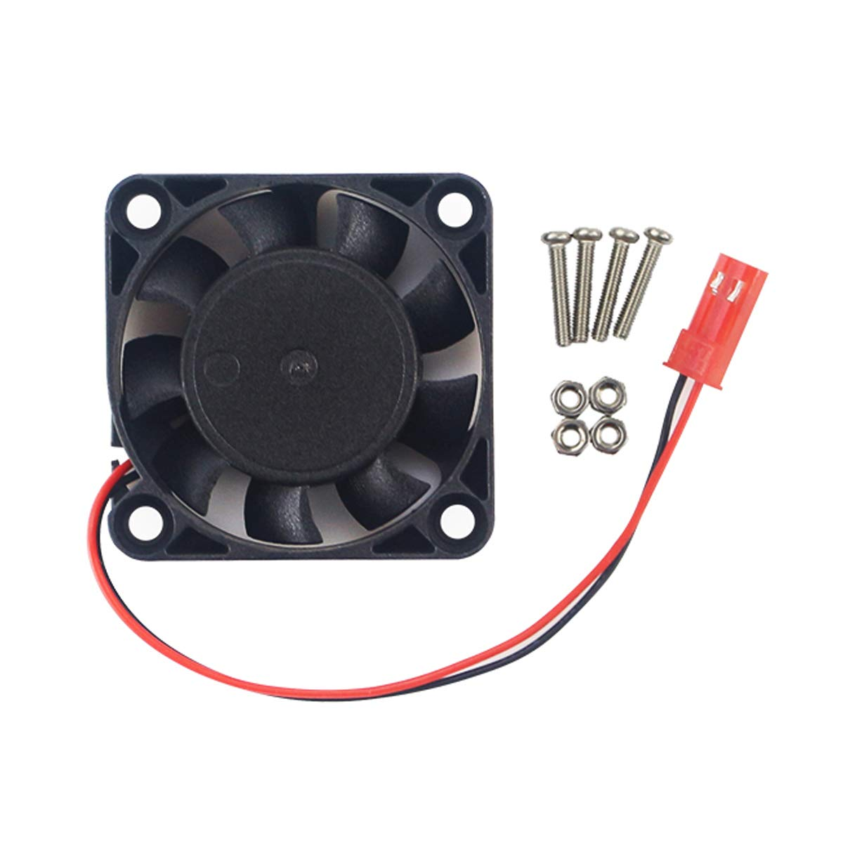 MakerFocus 2pcs NVIDIA Jetson Nano Cooling Fan 5V DC Brushless Fan with 2Pin Connector