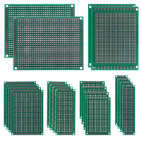MakerFocus 20 PCS Universal Prototype PCB Board for Soldering Practice
