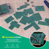 MakerFocus 24 PCS Universal Prototype PCB Board for Soldering Practice