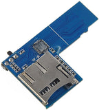 Raspberry Pi Dual TF Card Adapter Micro SD Card Adapter 2 in 1 Dual System Switch for B  2B 3B