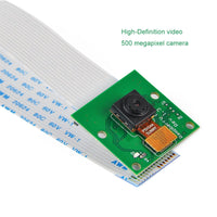 Raspberry Pi Camera 1080p OV5647 Sensor Compatible with Rpi 3B/Zero/Zero W with Adapter Cable