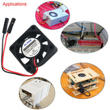 MakerFocus 4Pcs Raspberry Pi DC Brushless Cooling Fan 5V Heatsink Cooler One-to-Two Interface