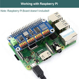 MakerFocus PWM Servo Motor Driver IIC Module 16 Channel for Raspberry Pi
