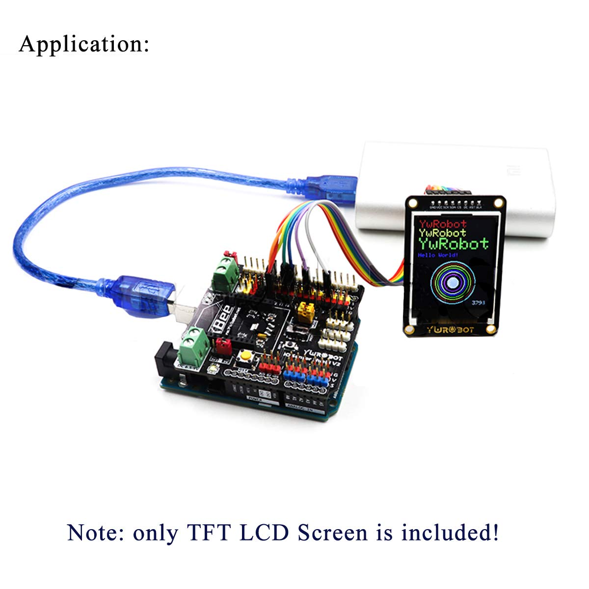 MakerFocus 1.8inch I2C TFT LCD Display Module For Arduino DIY