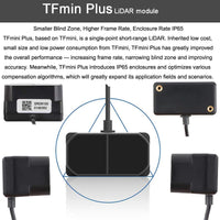 MakerFocus TFmini Plus Lidar Module(Short-Range Distance Sensor) Single-Point Ranging Module