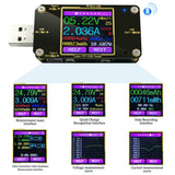 MakerFocus Digital LCD USB Power Voltage Current Tester With Bluetooth
