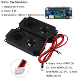 MakerFocus WM8960 I2S Expansion Board Amplifier Module with 2pcs Arduino Speaker for Raspberry Pi