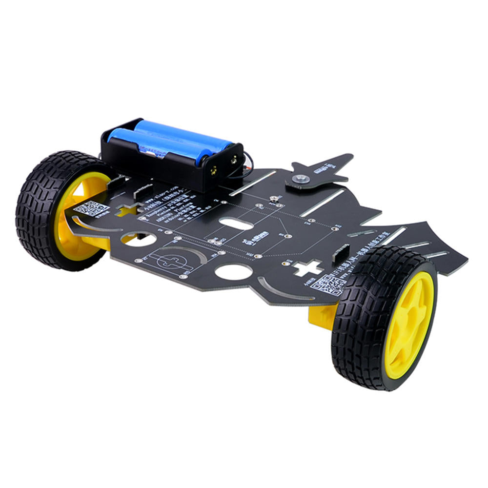 DIY 2WD Smart RC Robot Car Chassis Kit With TT Motor