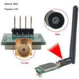 MakerFocus 2pcs nRF24L01P+PA+LNA RF Wireless Tranceiver Module with Antenna