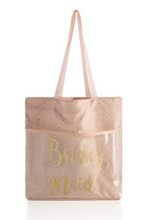 Load image into Gallery viewer, Bridesmaid Tote w/ Flip Flops