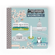 Load image into Gallery viewer, All Aboard Washington D.C. Book