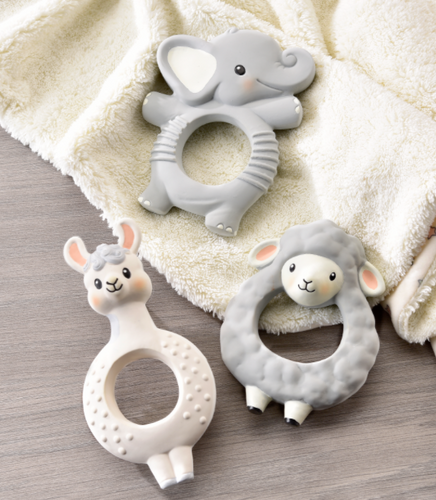Animal Teething Rings