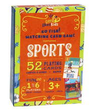 Load image into Gallery viewer, Kids Sports Go Fish Cards