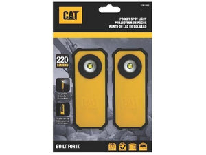 CATERPILLAR - CT51202 - Blister 2 unità: Torcia tascabile 120-250 lumen