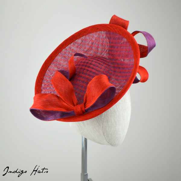SCARLET -  Special Occasion Hat