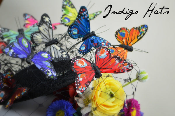 MARIPOSA - Rainbow Butterfly Headpiece