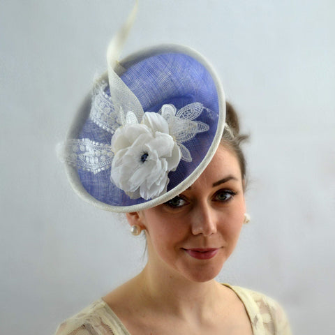 BRUGES - Periwinkle Blue Percher Disc