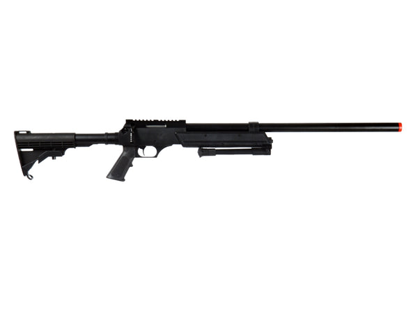 465 FPS MB06BIP Sniper Bolt Action Rifle Airsoft Gun With Bi-Pod