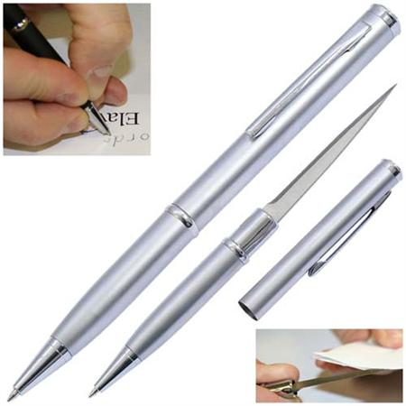 Elegant Executive Letter Opener Pen Knife Silver