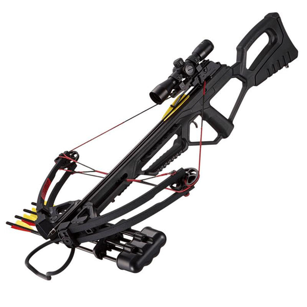 Valiant Sniper Compound Rifle Crossbow 185 lbs 4x32 Scope Package