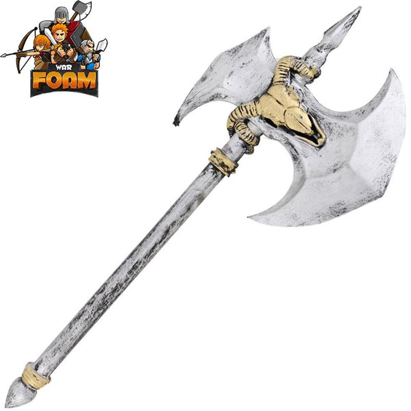 "28.5"" Tolak Barbarian Foam Battle Axe Costume Cosplay Prop Weapon"