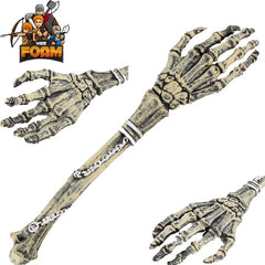 "25.6"" Foam Padded Skeleton Bone Hand Cosplay Halloween Masquerade"