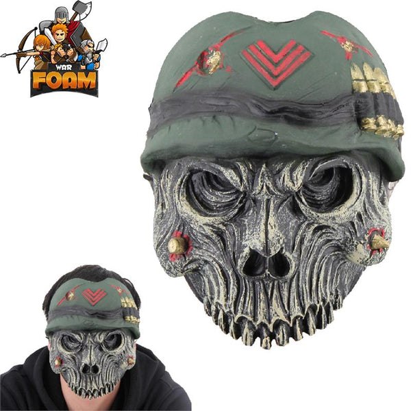 Military Army Skull Mask For Cosplay Halloween Masquerade War Monster