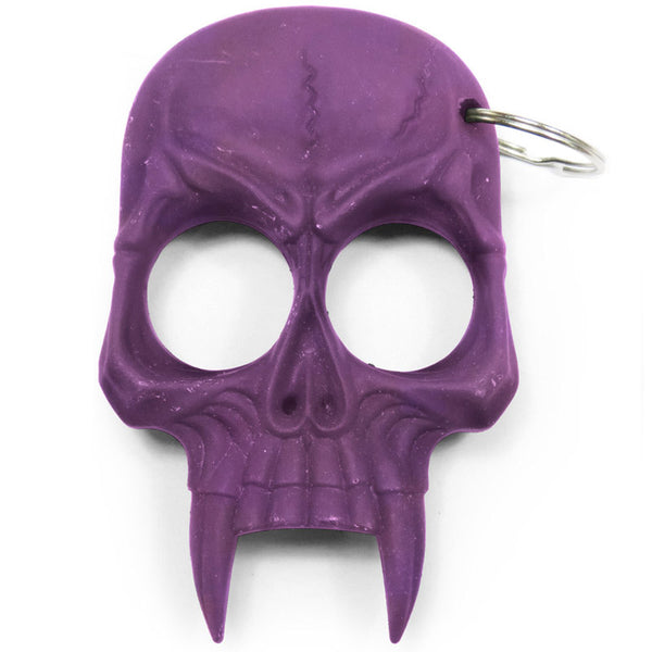 Demonic Skull Self Defense Keychain Purple