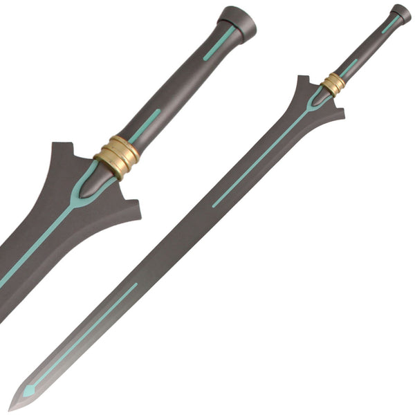 "40"" SAO Kirito's High Carbon Steel Anime Replica Sword With Stand"