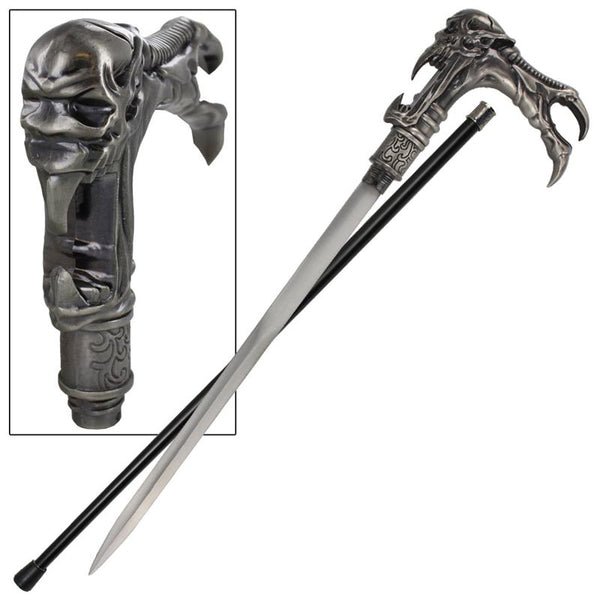 Galaxy Cyborg Alien Walking Cane Sword
