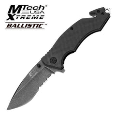 4.75 Inch MTech Xtreme Tactical and Rescue Spring Assisted Opening Knife