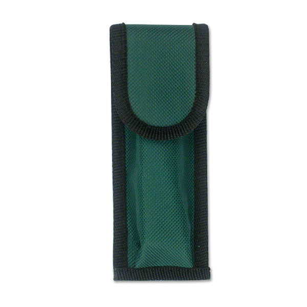 "5.5"" Green Nylon Pocket Knife Belt Loop Pouch Case 12 Pcs"