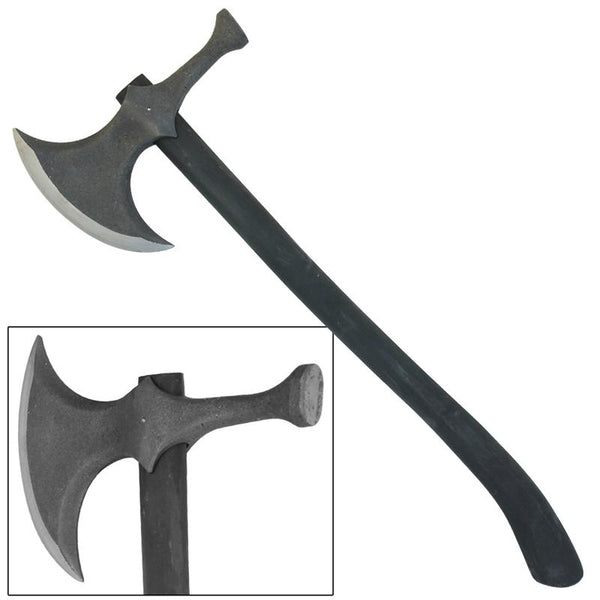 Rustic Barbarian Hammerhead Battle Axe