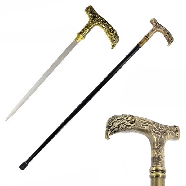 Eagle Head Walking Sword Cane