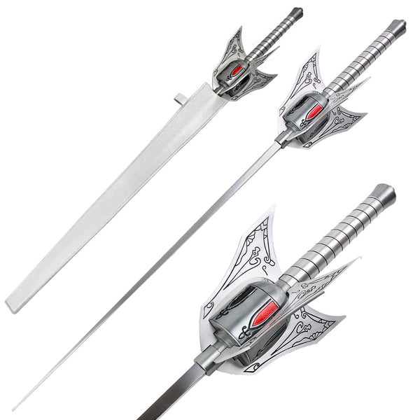 Weiss Schnee Myrtenaster Rapier Full Size Metal Fantasy Anime Sword With Scabbard
