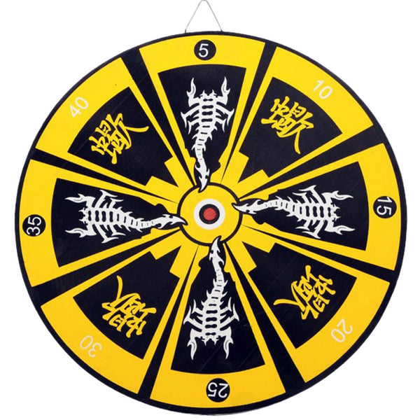Oriental Stinger Bullseye Throwing Knife Target Dart Board