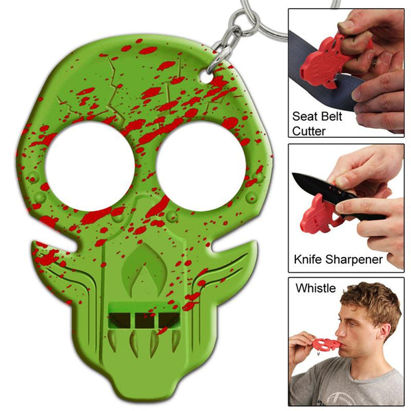 Undead Rising Zombie Body Decay Emergency Key Chain