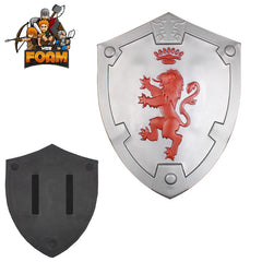 Rampant Lion Bravery Medieval Battle Foam Cosplay Shield