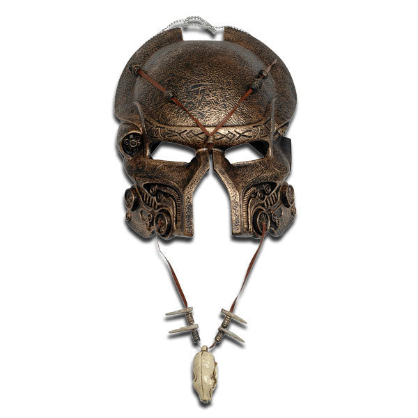 Ancient Predator AVP Mask And Necklace Combo Set