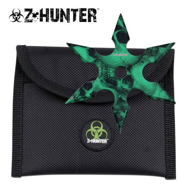 "4"" Sharp 5-point Throwing Star Zombie Ninja Shuriken"