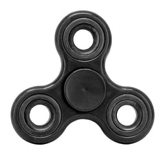 Stress Relief Hand Spinner and Spinning Tri Fidget High Speed Black