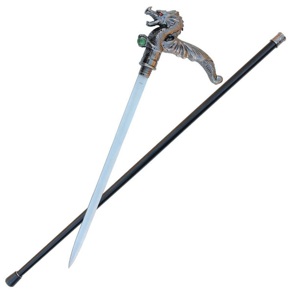 Winged Treasure Dragon Cane Sword