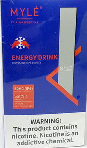 Energy Drink - MYLE Disposable Device