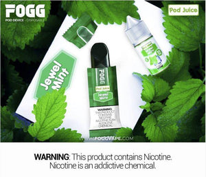 FOGG Pod juice - Jewel Mint - Dubai Vape King